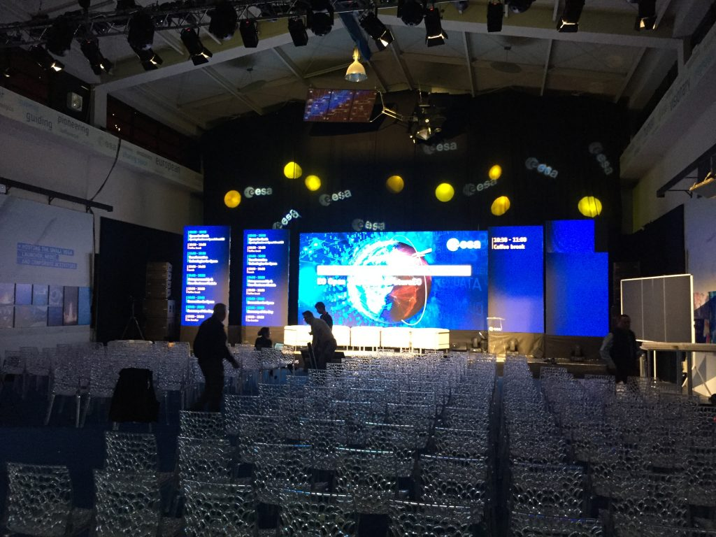 palco per evento aziendale